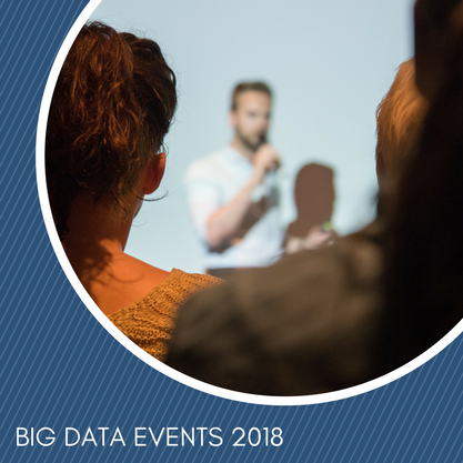 Big data events for your 2018 calendar